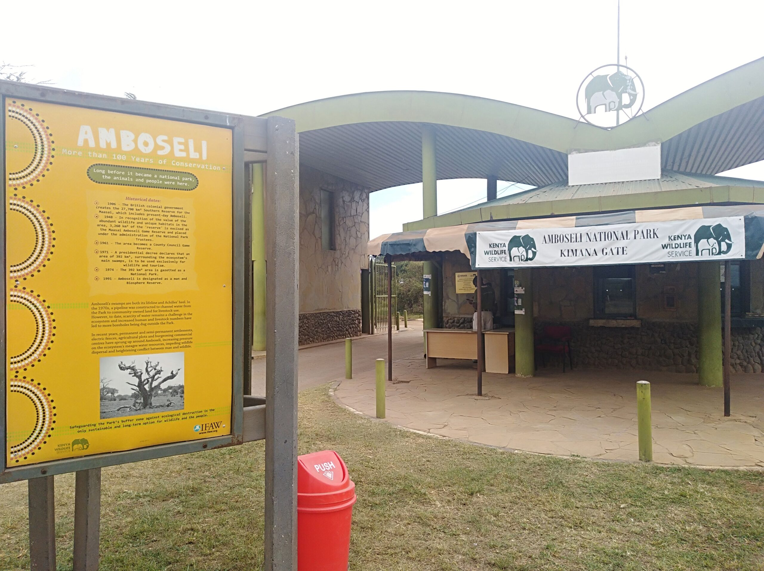 Amboseli National Park - Kimana Gate